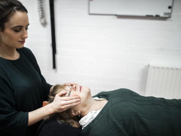 Oedeemtherapie hoofd, – halsgebied
